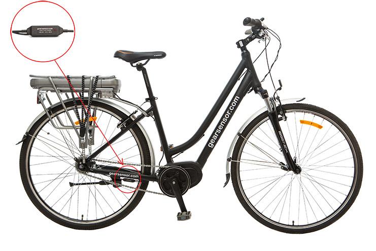 Gearsensor on bike